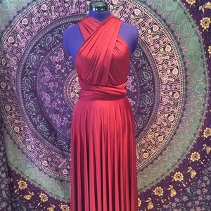 Dresses & Skirts - ❤️Maitai versatile wrap dress reddish/maroon color